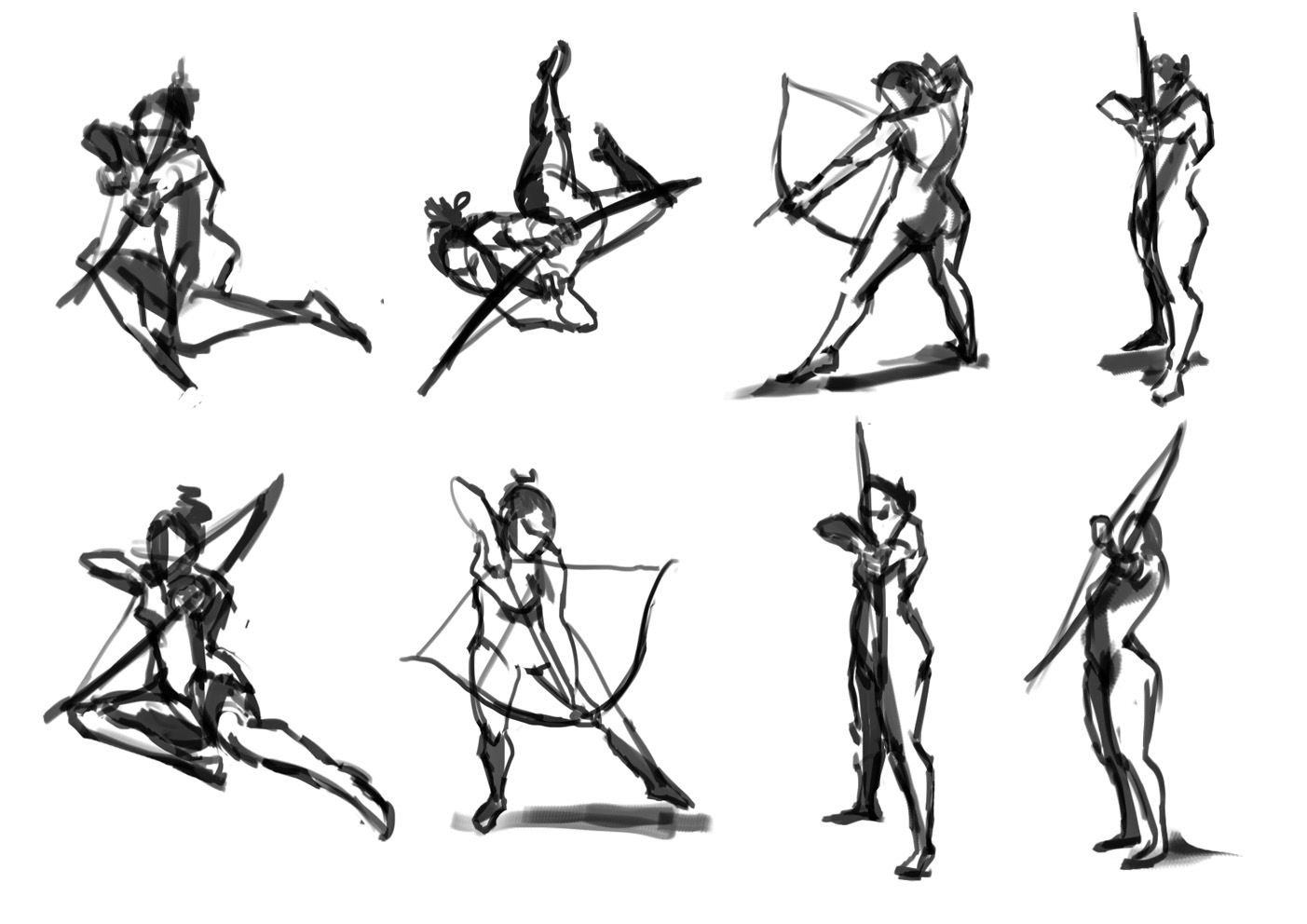 Poses on stuff to try