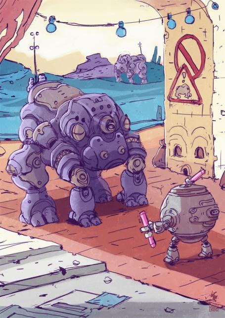 robot crossing-sm