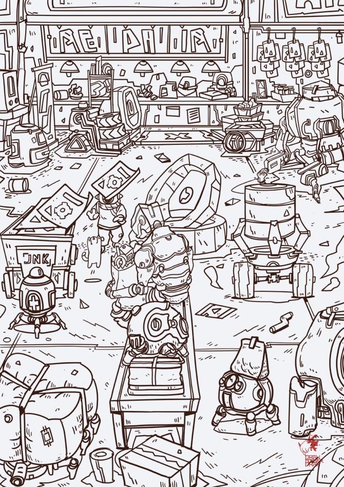 robo bustling-ln