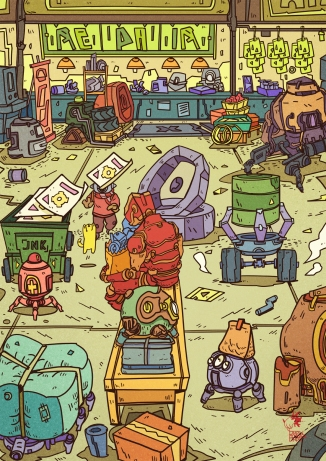 robo bustling-sm